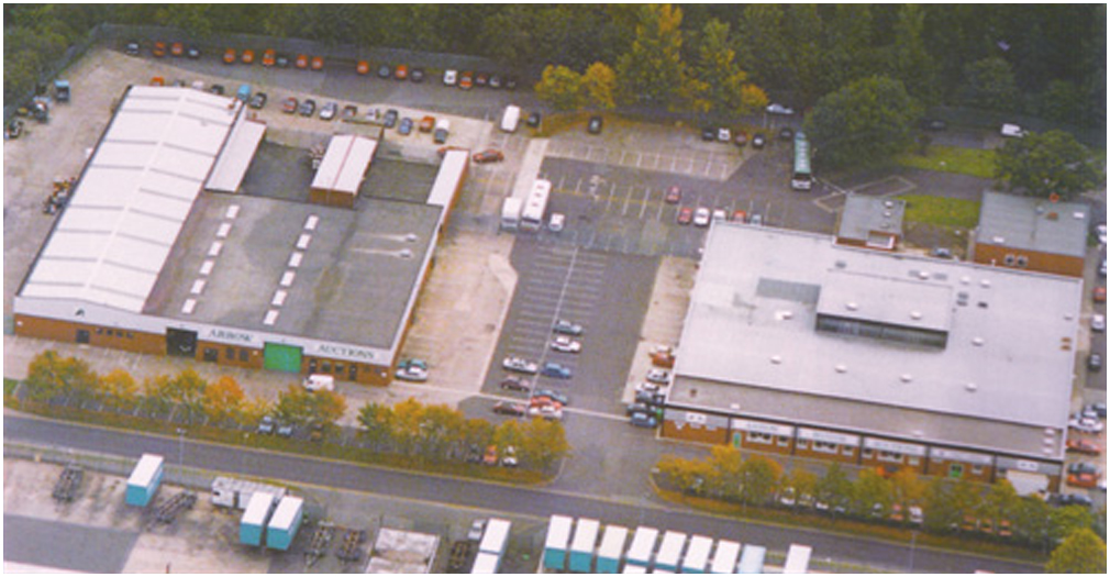 Arrow Motor Auctions Aerial Photo